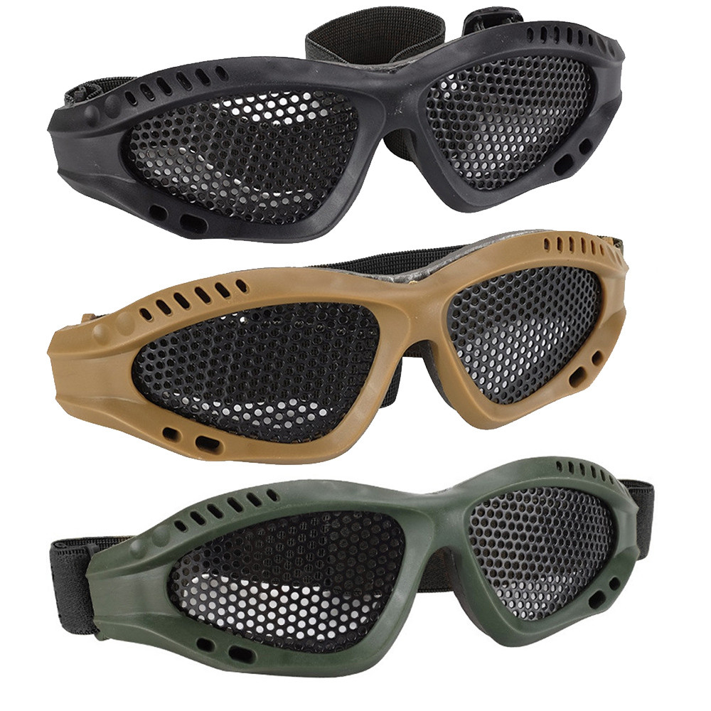HINST Hot Safety Glasses Goggles Anti-Explosion Protective Eyewear For Gun Accessories Air Soft Gun Pistol Revolver For Kids