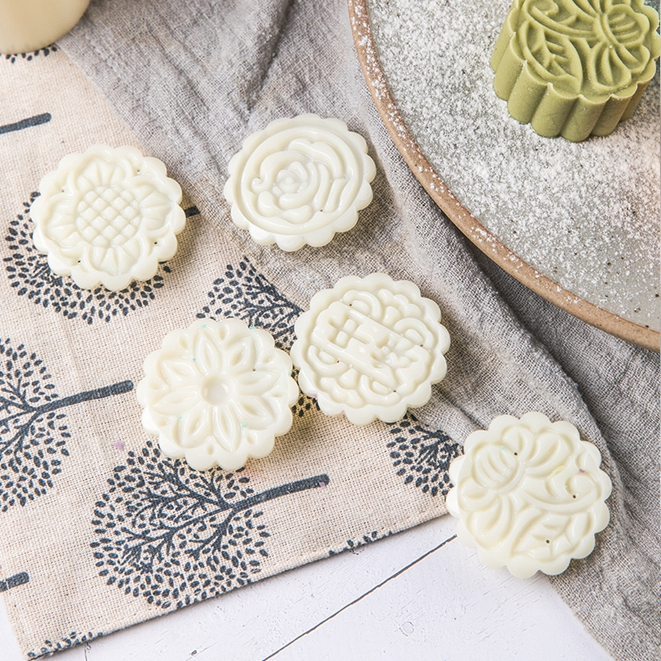 Mold Stamp Memory Box Makrout Flower /& Cakes Oriental