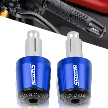 For BMW R 1200 GS LC R1200GS R 1200GS ADV Adventure 2014 2015 2016 Motorcycle 7/8 22MM Handlebar Hand Grips Handle Bar End Cap image