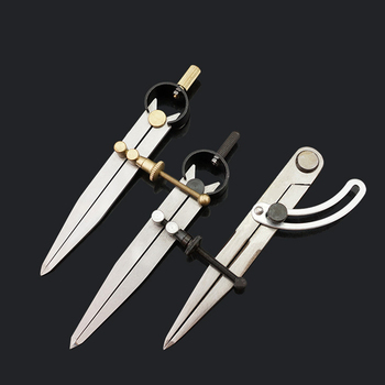 DIY Sewing Handmade Tools Scratch Compass Wing Dividers Leathercrafts Woodwork DIY Rotating Adjustable Tools