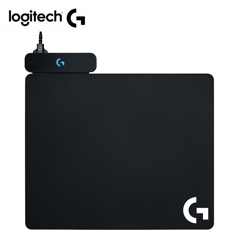 Logitech POWERPLAY Wireless Charging System Wireless Gaming Mouse Pad For Pc Mouse Gamer G703 G903 GPro G502 Wireless Mouse