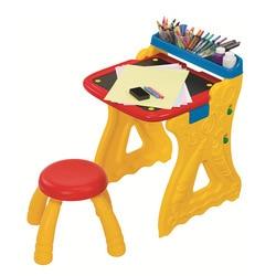 Crayola Drawing Board CHILDREN'S Drawing Board WordPad Small Blackboard-in-Easel Folding Learning Dual Purpose Table 5013