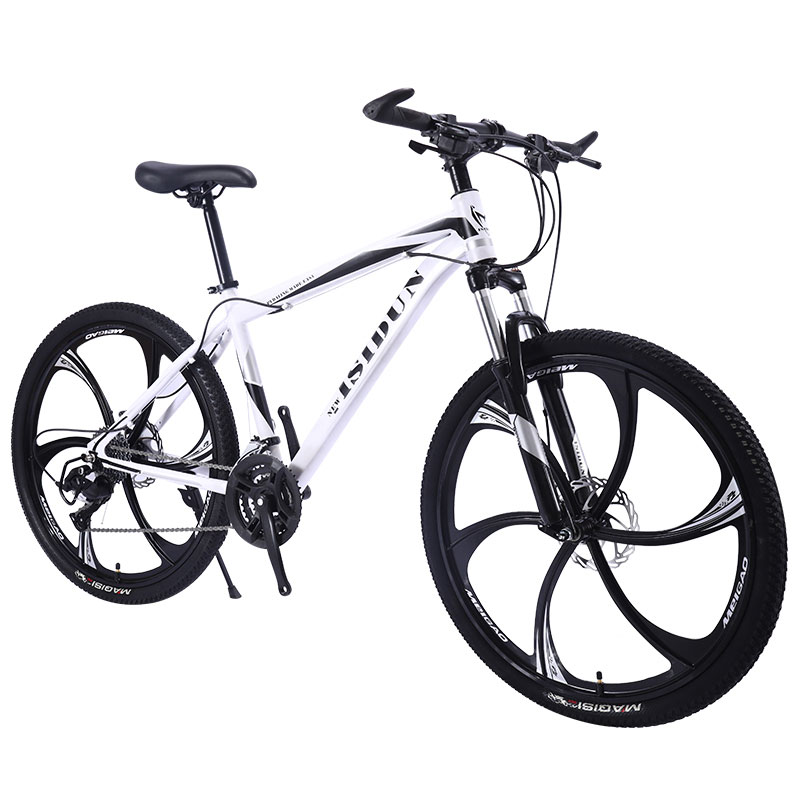 Bicycle Mountain Bike Adult Man Speed Double Disc Brake Shock Women Off Road One Round Six Knife Student