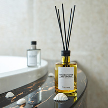 100ml Home Aromatic Reed Diffuser Set Flameless Aromatherapy Essential Oil Office Living Room Air Freshener  Decoration