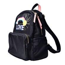 Женский модный рюкзак для кампуса универсальный с принтом женская