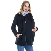 Women Hoodie Thickened Winter Pregnant Women 'S Sweatshirts Baby Carrier Wearing Hoodies Maternity Mother Kangaroo Clothes