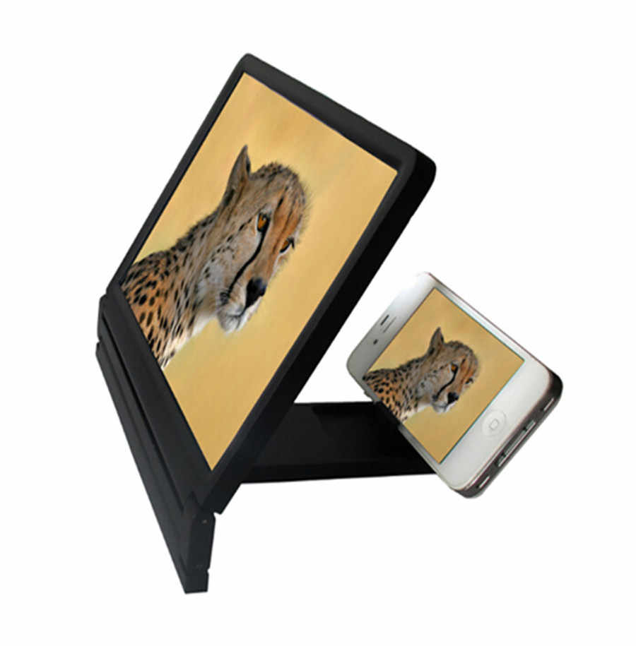3D Video Screen Amplifier Folding Enlarged Expander Stand Mobile Phone Screen Magnifier Eyes Protection Display Expander Stand H