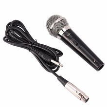 Microfone de karaoke handheld profissional com fio microfone dinâmico microfone de voz clara para karaoke parte desempenho música vocal quente