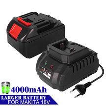 Battery Replacement Charger BL1830 For Makita Drills Cordless 18V with Lithium-Ion Bl1850/Bl1830/Bl1860
