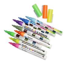 1pcs/5pcs/8pcs/10pcs/18pcs erasable chalk board markers neon liquid