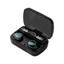 Mini tws bluetooth 5.1 fone de ouvido sem fio esporte jogos em aar fone à prova dwaterproof água ipx7
