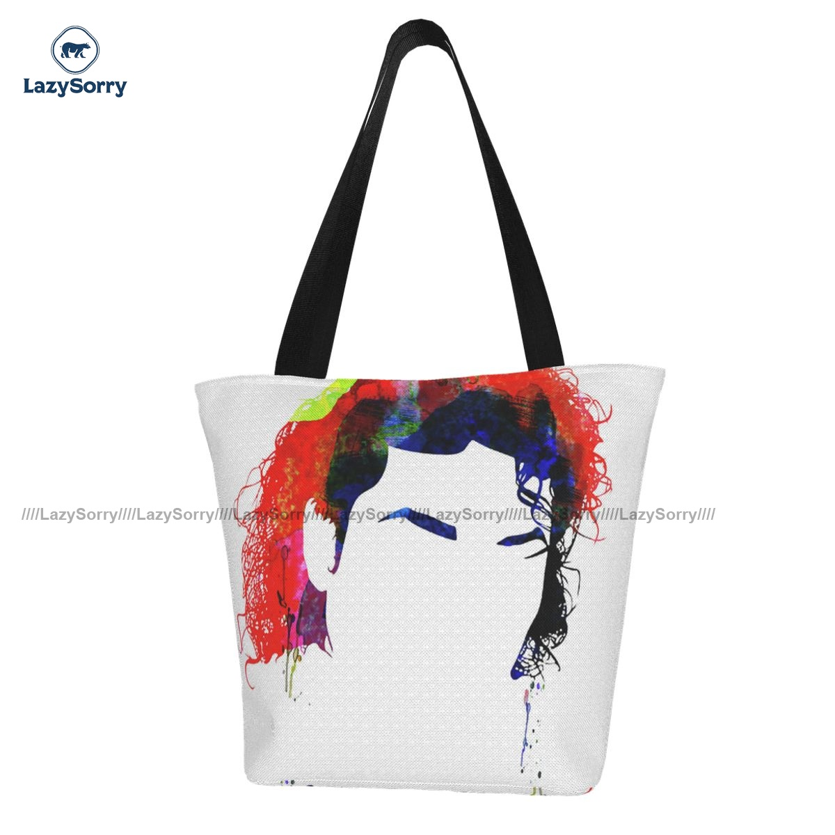 Michael Shopping Bag Work Student Handbag Gift Reusable Polyester Bags