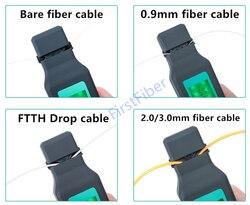 Neue Faser Optische Kennung mit Gebaut 750nm-1700nm SM und MM Optische Faser Kennung Handheld faser kabel FTTH Prüfung Werkzeug