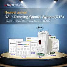 Miboxer 86 touch panel DALI 5 in 1 LED Controller DALI Bus Power Supply DIN Rail DALI Dimming Control System(DT8) for led lamps