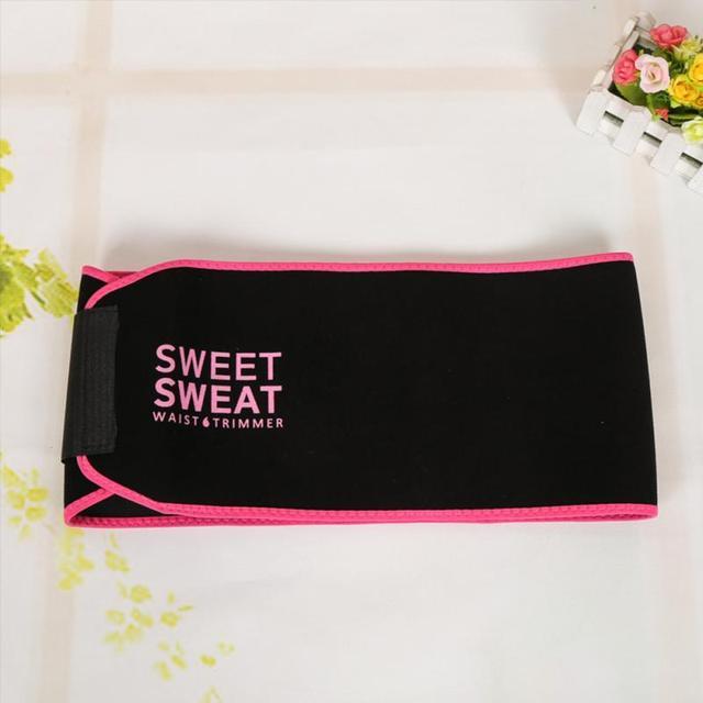 Waist Trimmer Belt Weight Loss Sweat Band Wrap Fat Tummy Stomach Sauna Sweat Belt Sport Safe Accessories #734 4