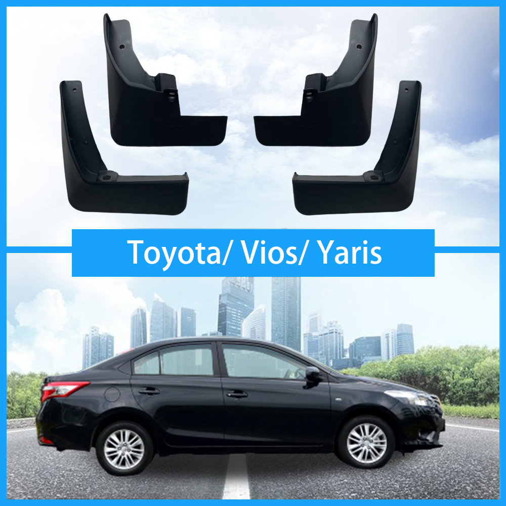 For Toyota Vios Yaris L/FS mudguards car Fenders mud flaps splash guards auto accessories 2003-2019