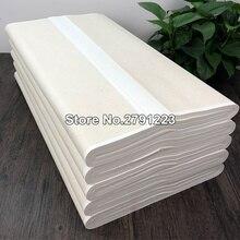 100 шт Xuan бумага Китайский полусырой рисовой бумаги для китайской живопись, каллиграфия или бумажные припасы для ремесла