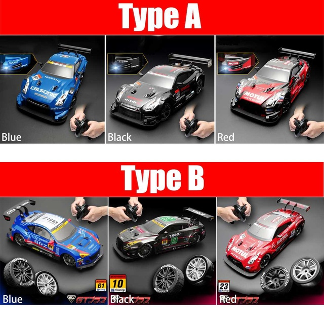 RC Car 4WD Drift Racing Car Championship 2.4G Off Road Radio Remote Control Vehicle Electronic Hobby Toys 5