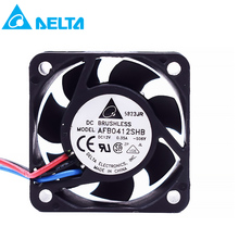 for delta AFB0412SHB 4015 4CM 40X40X15mm 12V 0.35A silent mini micro quiet computer cpu server axial cooling fans tachometer