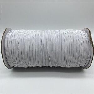 5 ярдов/партия 3 мм швейная эластичная лента красочная высокоэластичная эластичная резинка для талии эластичная лента