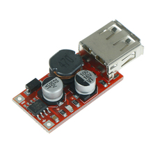 High Speed DC-DC 9V/12V/24V To 5V Step Down Car USB Charger 3A Output Module Pcb Board Diy Electronic Kit Vpltage Converter