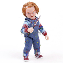 Neca 차일 즈 플레이 궁극적 인 chucky pvc 액션 피규어 소장 모델 장난감