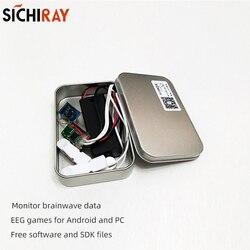 TGAM стартовый комплект мозговой волны датчик EEG Датчик управления мозгом игрушки для Arduino или Neurosky разработки приложений с TGAT1 обеспечения SDK