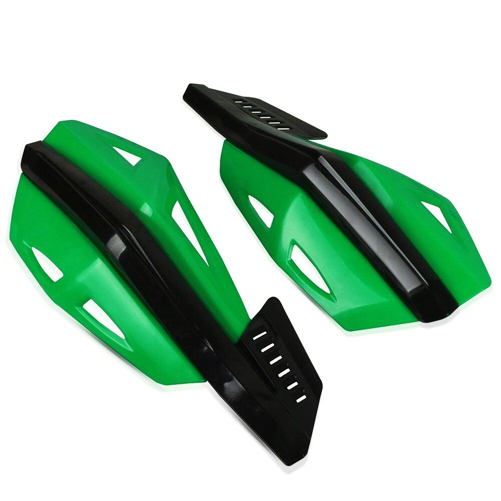 פנסים מופעלי סוללות עבור קוואסאקי KX65 KX85 KX125 KX250 KX250F KX450F אופני שטח עבור KX 65 85 250F 450F F כידון יד משמרות Handguard מגן (3)