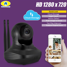 цены Golden Security 720P Full HD Cloud Storage Wireless WiFi Camera Security IP CCTV Camera WiFi Network Surveillance Camera Onvif