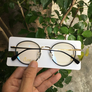 Image 4 - Round fashion spectacles eyeglasses frames Japan for myopia/reading