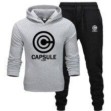 new Men's Sets drop shipping hoodies+Pants Harajuku wholesal