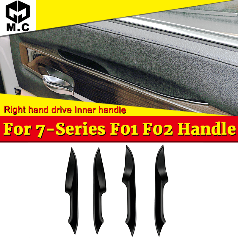 New Front Left Side Inner Door Panel Handle Pull Trim For BMW 7 Series F01 F02