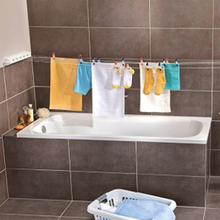 Retractable Clothesline Indoor Outdoor Laundry Hanger Bathroom Dryer Organizer Telescopic Clothes Drying Rack