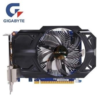 Видеокарта Gigabyte GTX 750Ti 2 Гб, видеокарта NVIDIA GTX750 750 Ti 2 Гб, видеоэкранные карты GPU, настольный компьютер, видеокарта для игр, видеокарта VGA
