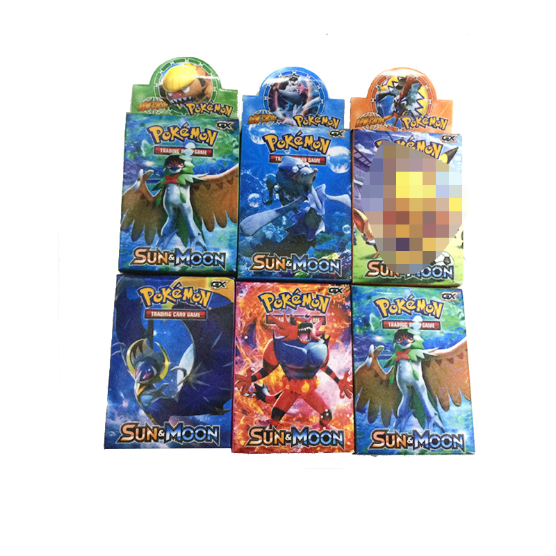Takara Tomy Pokemon 33PCS GX EX MEGA  Flash Card Sword Shield Sun Moon Card Collectible Gift Children Toy