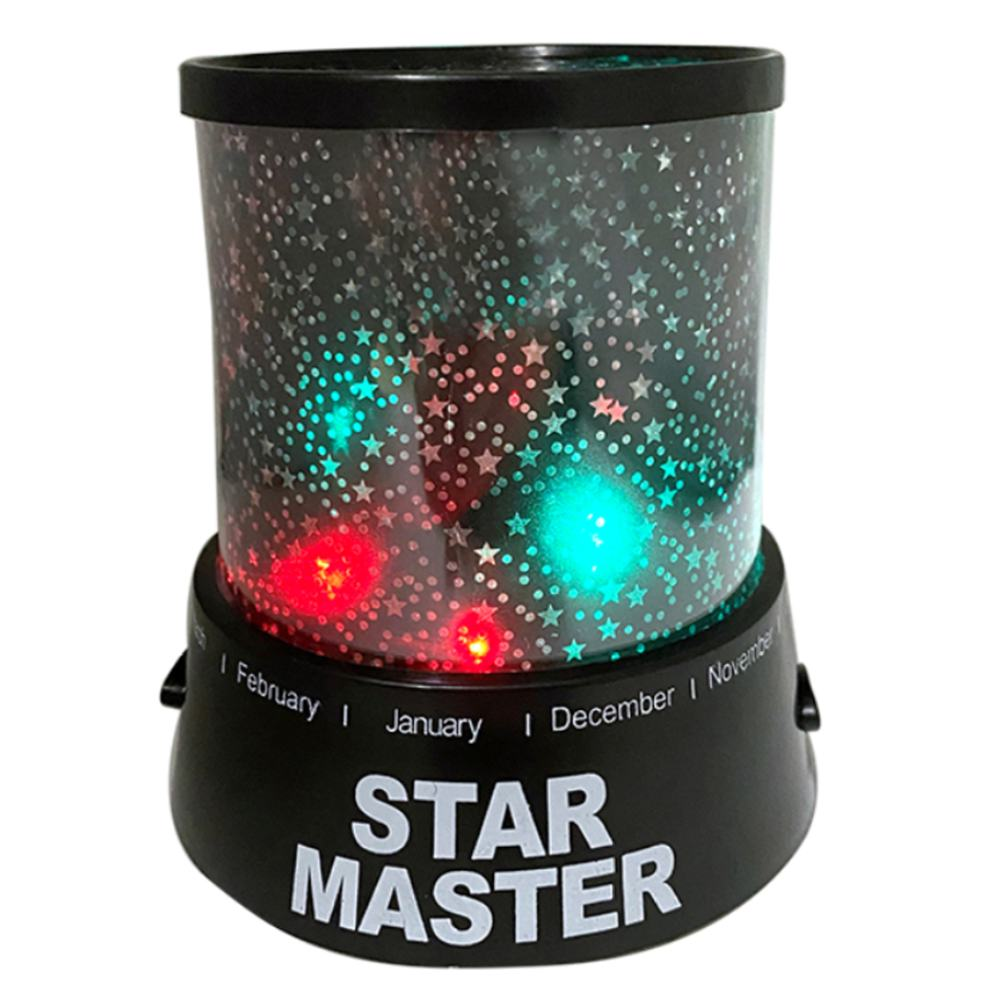 Amazing Romantic Colorful Cosmos Star Master LED Star Sky Projector Night Light Lamp Kids Baby Christmas Gift