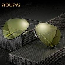 ROUPAI Polarized photochromic sunglasses men women brand designer uv400 driving