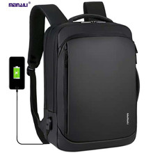 Hot new usb men laptop backpack travel work business large capacity multi-functional bags college student school shoulder bags