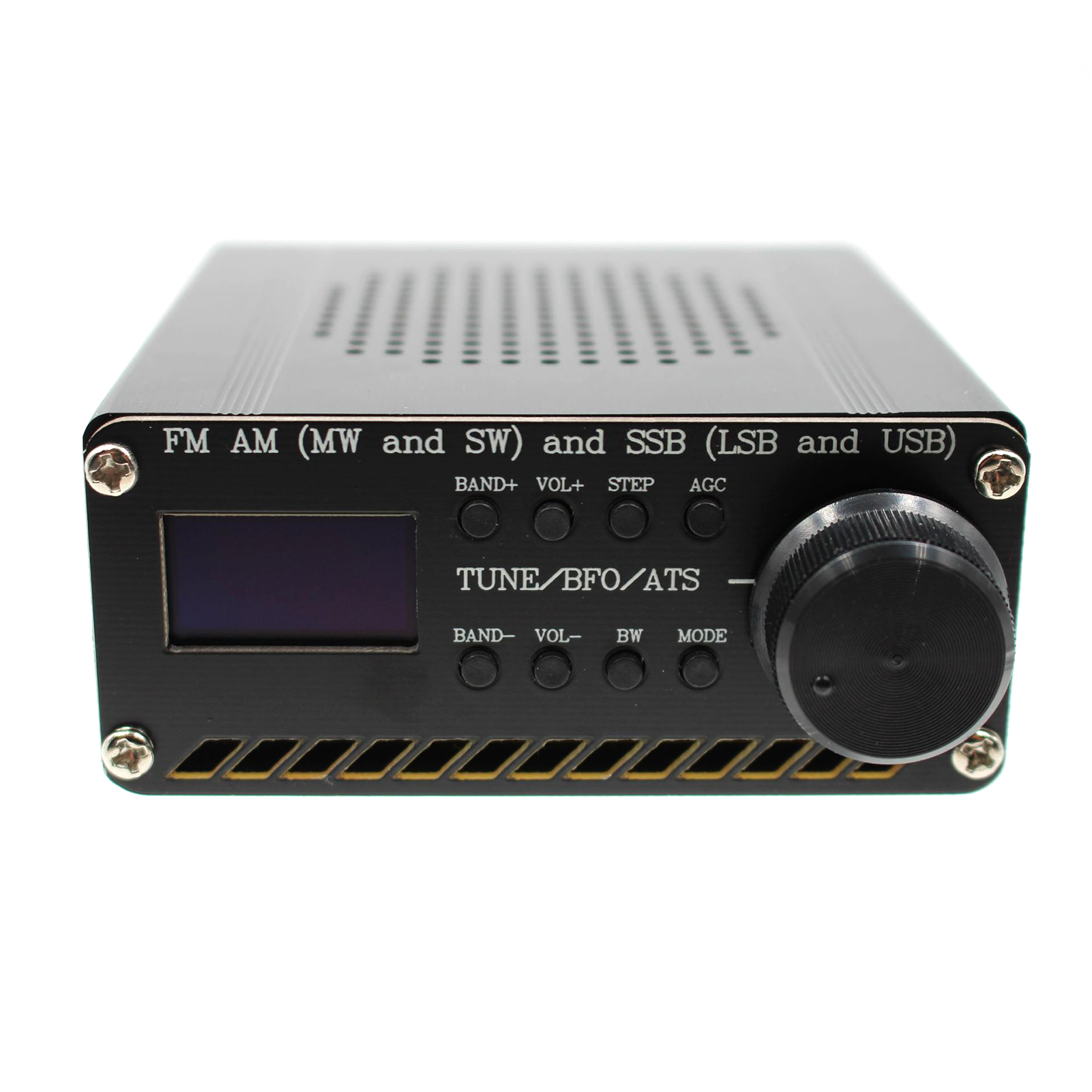 Si4732 MW SW Home Radio Receiver FM AM Black Accessories Portable All Band With Battery Assembled Desktop Antenna Speaker