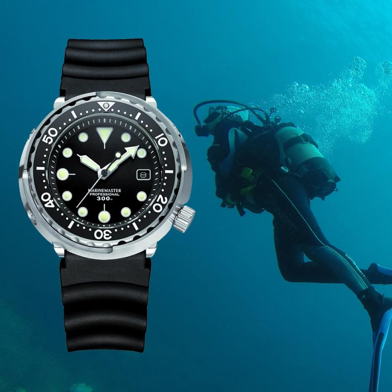 NH35A 300M Japanese Diver Watch Diving Automatic Mechanical Watch Men Stainless Steel Sapphire Glass Watch Dive Watches Men Top