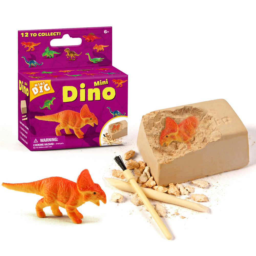 CoCuKi Children Educational Dinosaur Fossil Excavation Toy Sets Environmentally Friendly Materials Toys for Kids Christmas Gift
