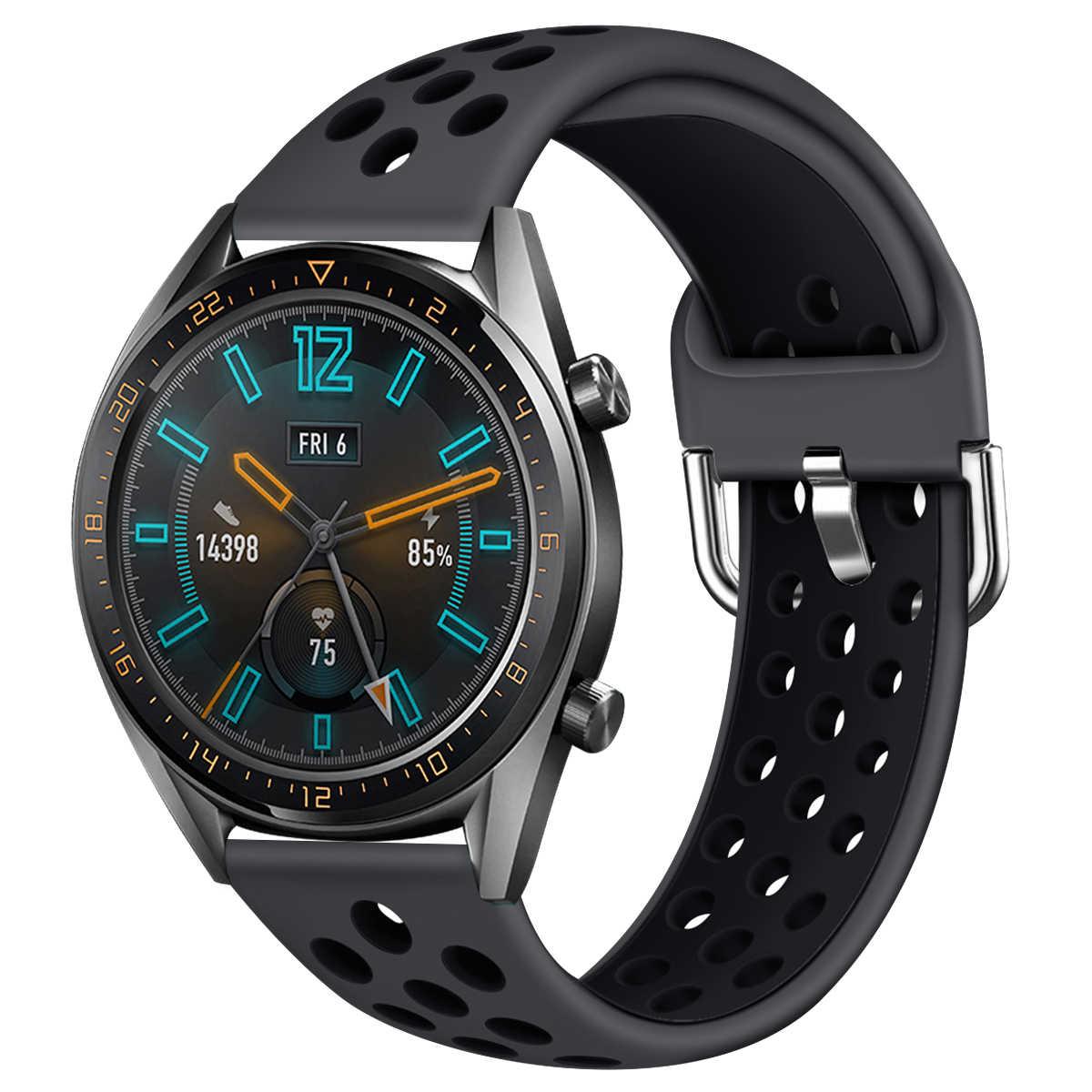 Thể Thao Ban Nhạc Cho Đồng Hồ Huawei Watch GT GT2 22 Mm Dây Đeo Dây Vòng Tay Thể Thao Dây Đồng Hồ Có Thể Thay Thế Cho Đồng S3 71002