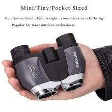 Nikula 10X22 Pocket Mini Monoculaire Verrekijker Hd Krachtige BAK4 Prisma Waterdichte Telescoop 1000 M Lange Afstand Jacht Optische scope