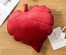 Очаровательный лист сердце подушка мультфильм Стиль романтические