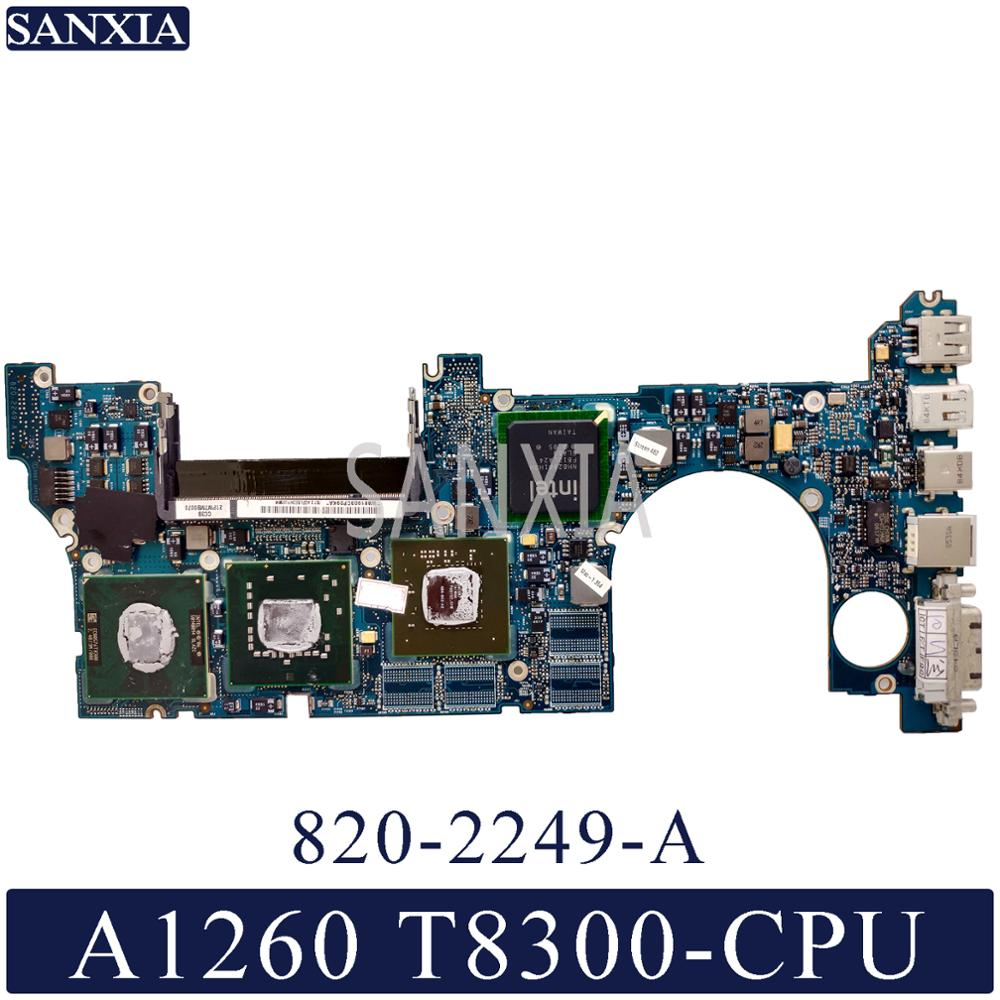 KEFU 820-2249-A Laptop motherboard for Apple MacBook Pro A1260 original mainboard <font><b>T8300</b></font> image