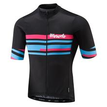NEW 2019 Cycling jerseys short sleeve shirt morvelo newest pro team fit top quality Mens summer cycling