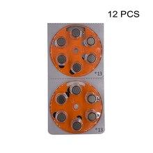 เครื่องช่วยฟัง Power แบตเตอรี่ PR48 1.4V สีส้ม TAB สังกะสีแบตเตอรี่ E13 แทนที่ A13 13 13A DA13 P13 ZA13