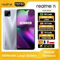 Глобальная версия Realme 7i 7 i 4 ГБ 64 ГБ Смартфон MTK Helio G85 6.5 '' Экран 48MP AI Тройная камера 6000 мАч