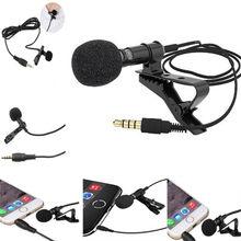 Universel Portable 3.5mm Mini casque micro revers Lavalier pince Microphone pour la Lecture enseignement conférence Guide Studio micro