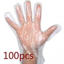 100 szt Lekkie wielofunkcyjne jednorazowe rękawice ekologiczne przenośne rękawice ochronne anty-olejowe rękawice higieniczne tanie tanio CN (pochodzenie) 70g Disposable Gloves Cienkie Other Food Plastic Gloves HDPE 100 pcs set dropshipping wholesale